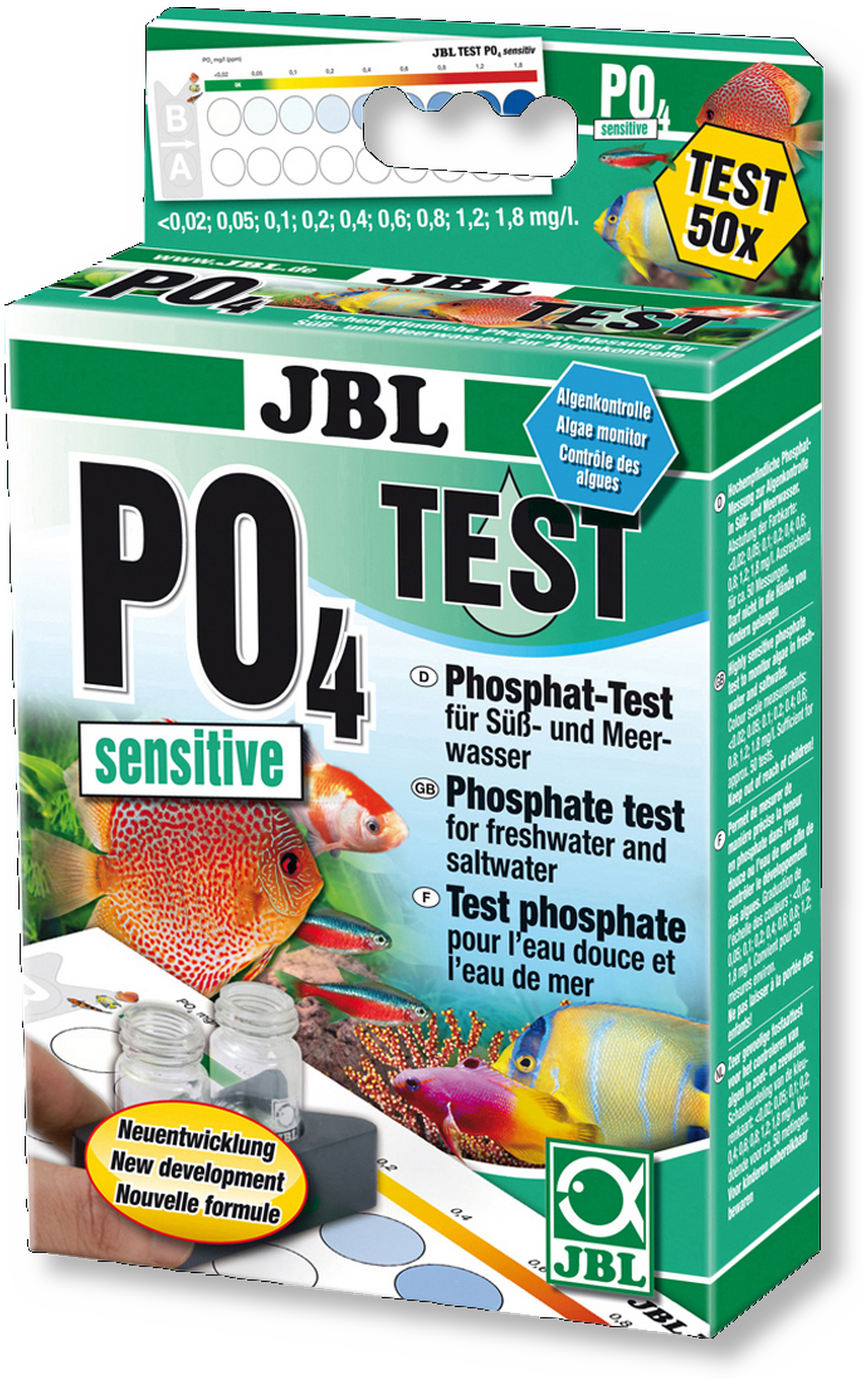 jbl po4 phosphat sensitiv test. Black Bedroom Furniture Sets. Home Design Ideas
