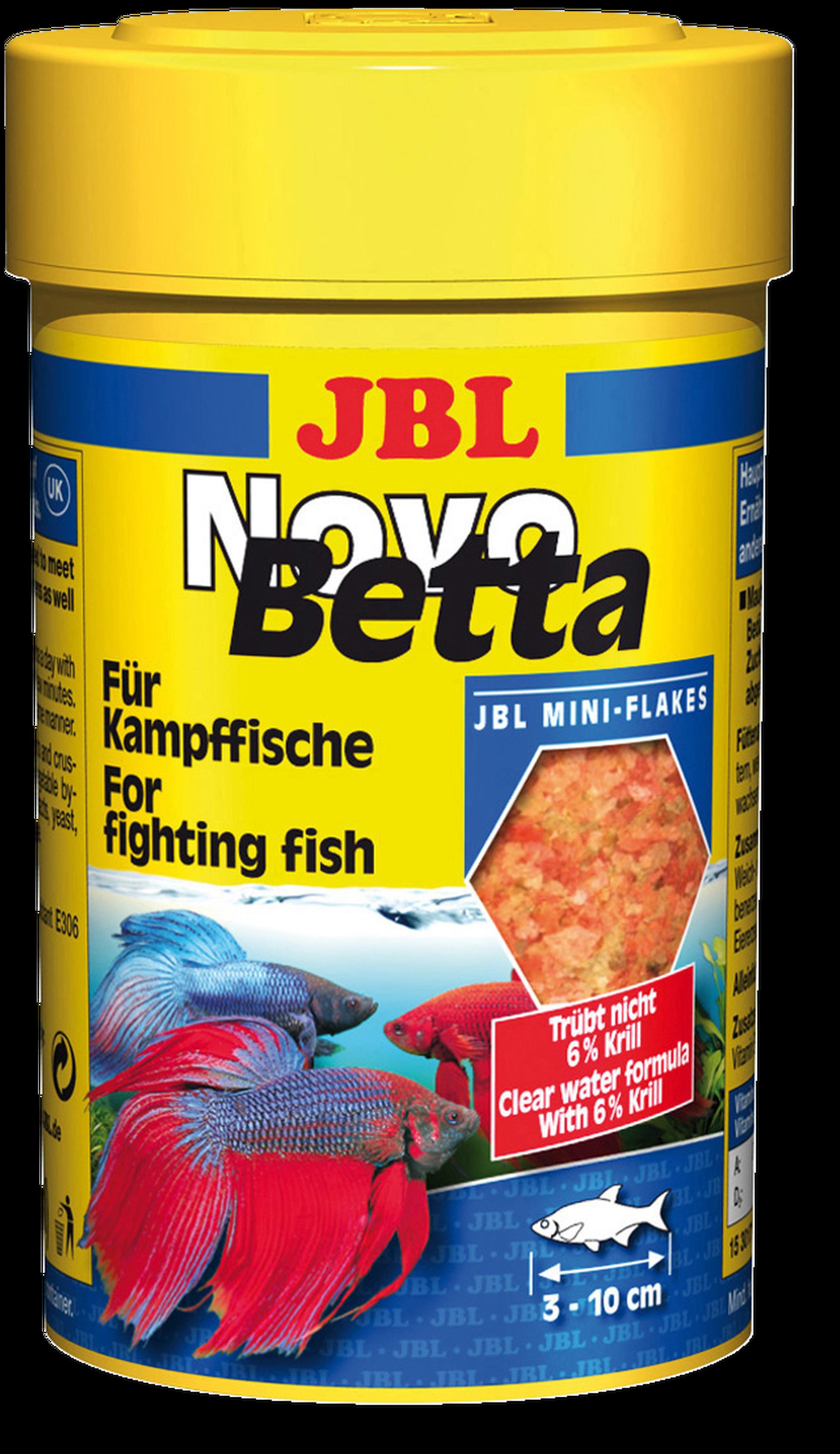 Jbl novobetta for Dose nourriture poisson rouge