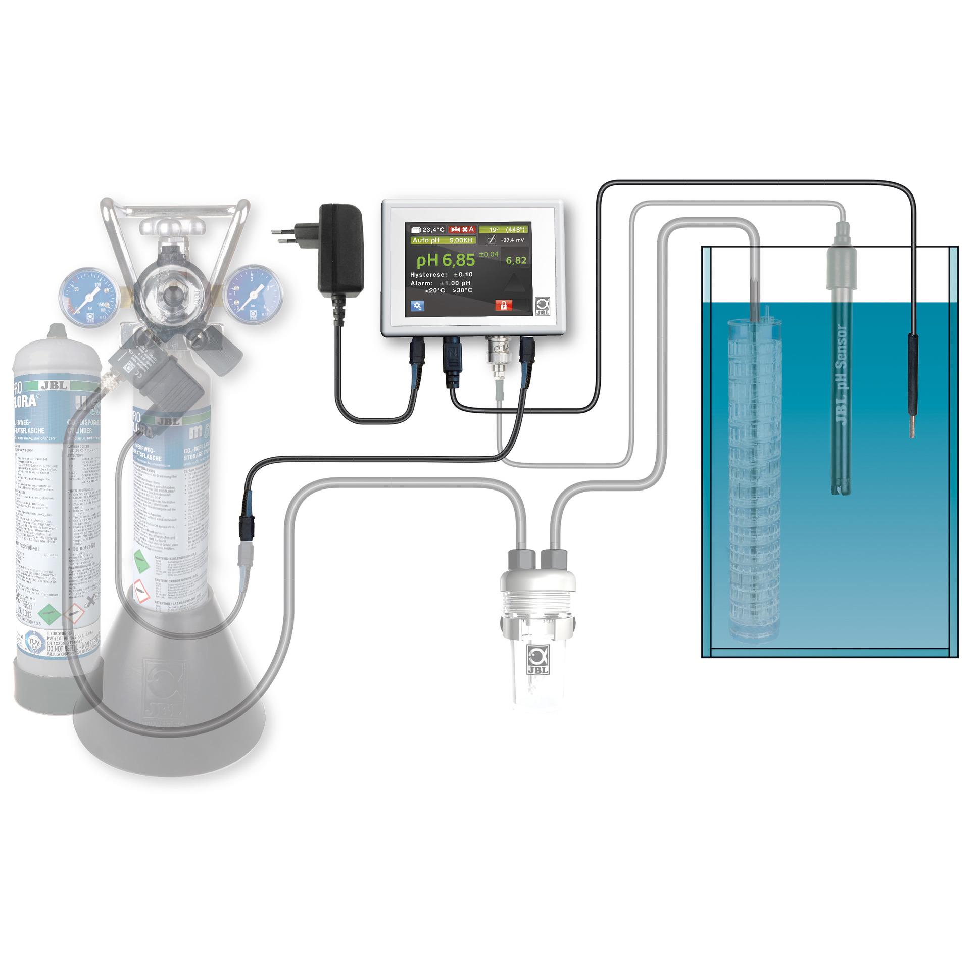 jbl proflora ph control touch rh jbl de Water Treatment pH Control Aquarium Ph Controller System