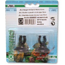 JBL suction cup with clip, 16 mm, 2x