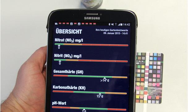 Analyse De Leau Du Bassin Par Smartphone